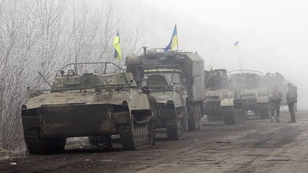 Kiev's forces abandoned Debaltseve in defeat last week