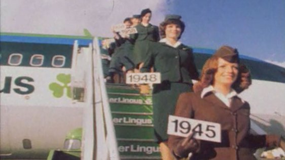 Aer Lingus Models Uniforms (1975)