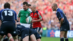 Peter Stringer played many times against Leinster as a Munster player