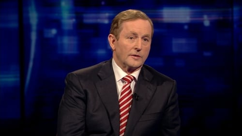 Enda Kenny said that he hoped support for the referendum would hold up