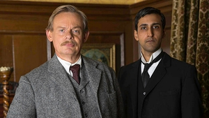 Martin Clunes and Arsher Ali in Arthur & George