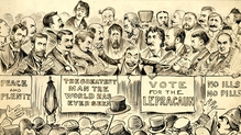 Lepracaun Cartoon Monthly was an important satirical magazine in Dublin from 1905 to 1915