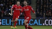 Adam Lallana has started just 20 of Liverpool's 35 league games this season