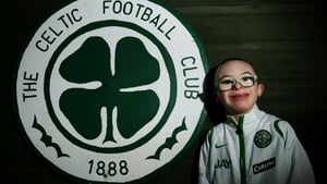 Jay Beatty scored a penalty in a half time competition during Celtic's 2-0 away win against Hamilton