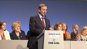 Support for Fine Gael is up since the last poll in September