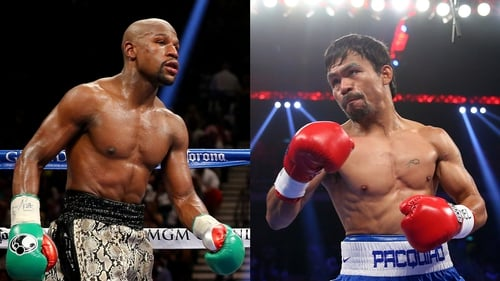 Tickets for Floyd Mayweather v Manny Pacquaio sold out within minutes