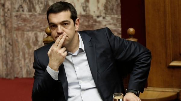 Alexis Tsipras argued his government had averted a 'plan by blind conservative powers' to cause a default
