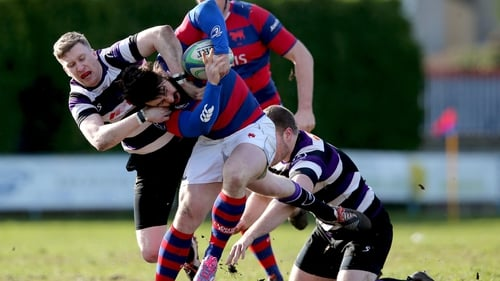 Terenure secured bragging rights over St Mary's in their Dublin 6W derby