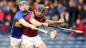 David Collins in action against Tipperary