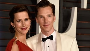 Cumberbatch and wife Sophie Hunter