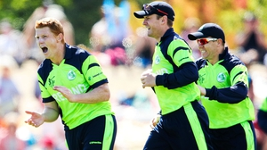 Kevin O'Brien joins his older brother Niall at the English club for this summer's T20 event