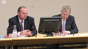 GAA President Liam Ó Néill and GAA DG Páraic Duffy were before the Oireachtas Foreign Affairs Committee