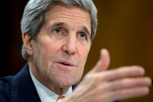 John Kerry was speaking on the second day of intense congressional hearings