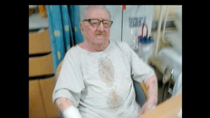 Gerry Feeney's family say he was treated without dignity during his stay at Beaumont hospital