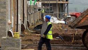 The biggest gains in employment last year came in the construction and financial sectors
