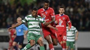 Nani has scored eight goals for Sporting Lisbon