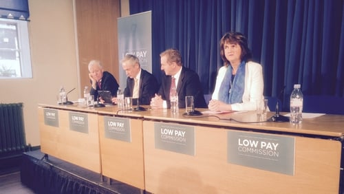 The Low Pay Commission was formally launched this morning