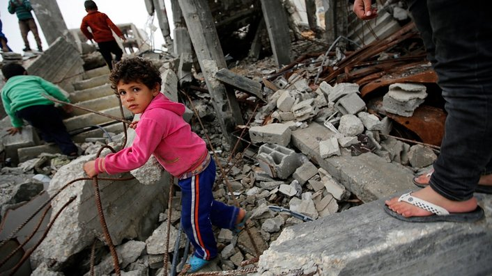 Gaza children get medical help in Germany