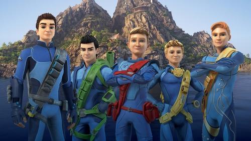 The Thunderbirds Are Go team