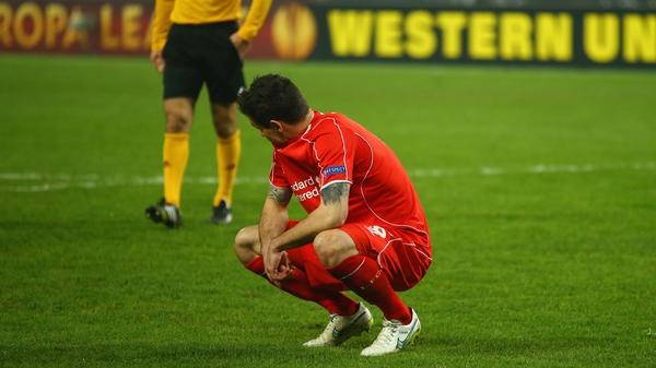 Dejan Lovren missed the crucial penalty