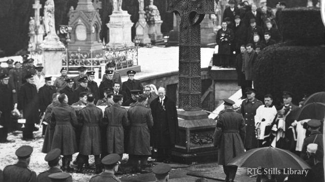 Re-internment of Roger Casement to Glasnevin Cemetry 1965