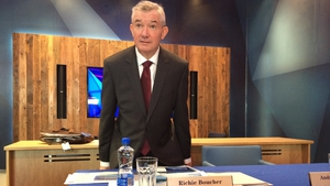 Outgoing Bank of Ireland CEO Richie Boucher said the lender expects to recommence dividend payments 'at a modest level' in the first half of 2018