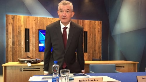 Former Bank of Ireland CEO Richie Boucher stepped down earlier this year