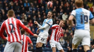 Shane Duffy was part of the Blackburn team that beat Stoke in the FA Cup