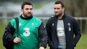 Marty Moore (L) with Dave Kearney