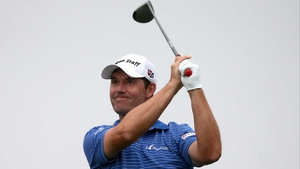 Padraig Harrington is belying his lowly world ranking with an impressive showing