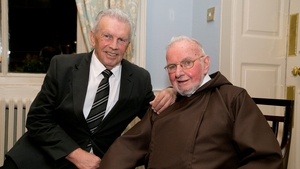 Capuchin Brother Kevin Crowley and John Giles were honoured in Dublin this evening