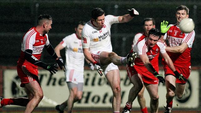 Tyrone earn last-gasp draw against Derry