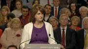 Joan Burton is giving her leader's speech tonight