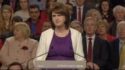 Joan Burton addressed the national conference in Killarney tonight