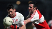 Darren McCurry kicked the equalising point for Tyrone