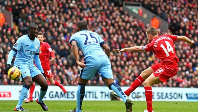 Liverpool dent Man City title bid with Anfield win