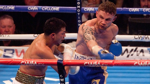 Carl Frampton appears to be on a collision course with English fighter Scott Quigg