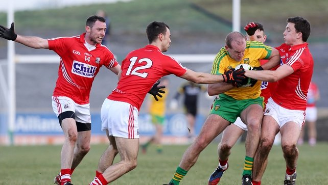 Donegal edge out Cork in Ballyshannon