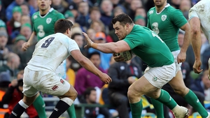 Cian Healy's recovery from neck surgery appears to be on course