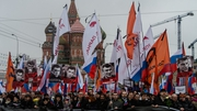 The murder of Boris Nemtsov has caused mass protest in central Moscow
