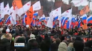 Nine News Web: Thousands march in honour of murdered politician Boris Nemtsov