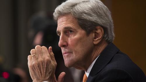 John Kerry has met Benjamin Netanyahu in Berlin for talks
