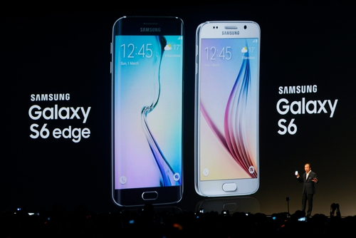 Samsung hopes its latest smartphones will help it regain ground lost to premium and low-end rivals