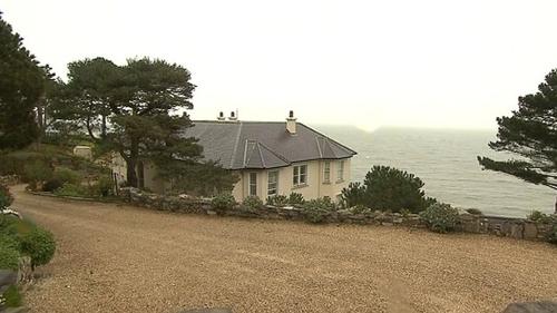 Gorse Hill has superb views across Killiney Bay