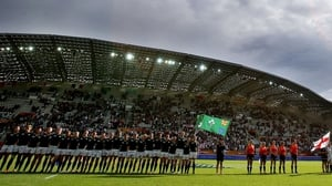 Ireland reached the semi-final of the 2014 Women's Rugby World Cup
