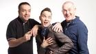 John Colleary, Dermot Whelan and Colin Murphy