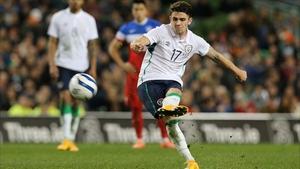 Robbie Brady scored in Ireland's 4-1 friendly win over the USA in November