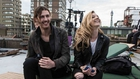Hozier and Natalie Dormer on the set of Someone New