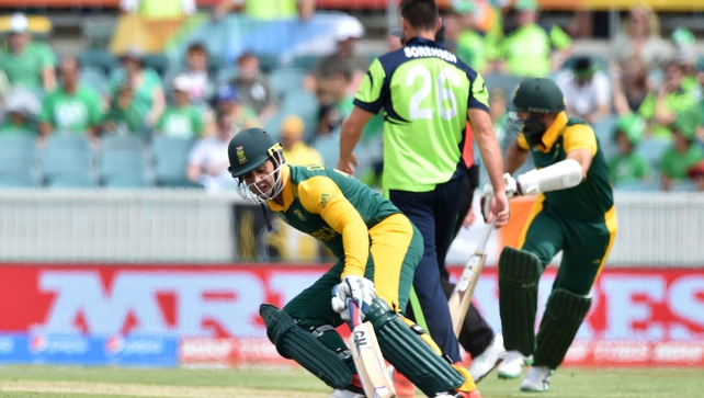 Ireland to chase 412 as South Africa run amok
