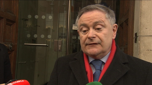 Minister Howlin said he had not yet discussed plans with unions as he wanted to bring it to Cabinet first